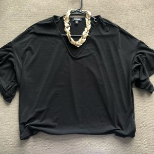 Black Express Night Out Blouse